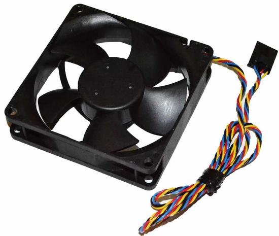 Genuine OEM 9DVNN Dell OptiPlex 790 990 7010 9010 SFF Rear Case Fan Assy CN-09DVNN MF80201VX -Q000-S99 DASA0820R2U PVA080F12H