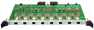 HP 8-Port Fiber Card/Module with Xbar for HyperFabric2 Fiber Cha
