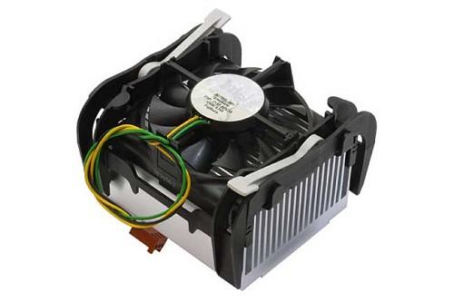 Heatsink and fan