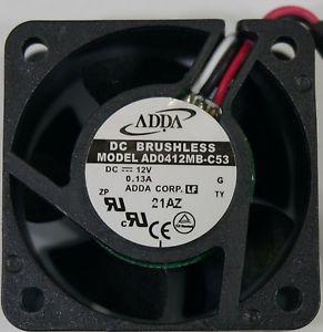 ADDA AD0412MB-C53 4020 12v 4CM 3PIN 007