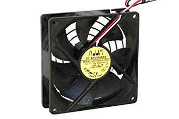 Brushless Fan Dc12V 0.25A , 3-Wire 25Mm X 92Mm