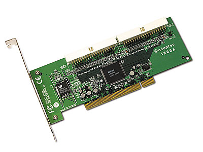 Adaptec ATA RAID 1200A ATA/100 Raid 1 0 0/1 JBOD 2 Channel PCI Card With Cables