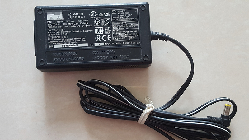 Delta/Cisco Adp-10Kb Ac Power Adapter 48V 200Ma