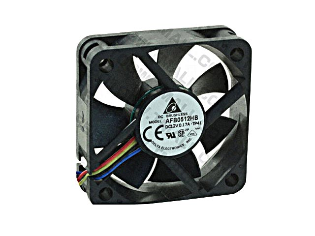 FAN 12V DC 50MM BY 10MM, 2 BY 9/16 INCHES, 11 INCH 2 WIRE CABLE