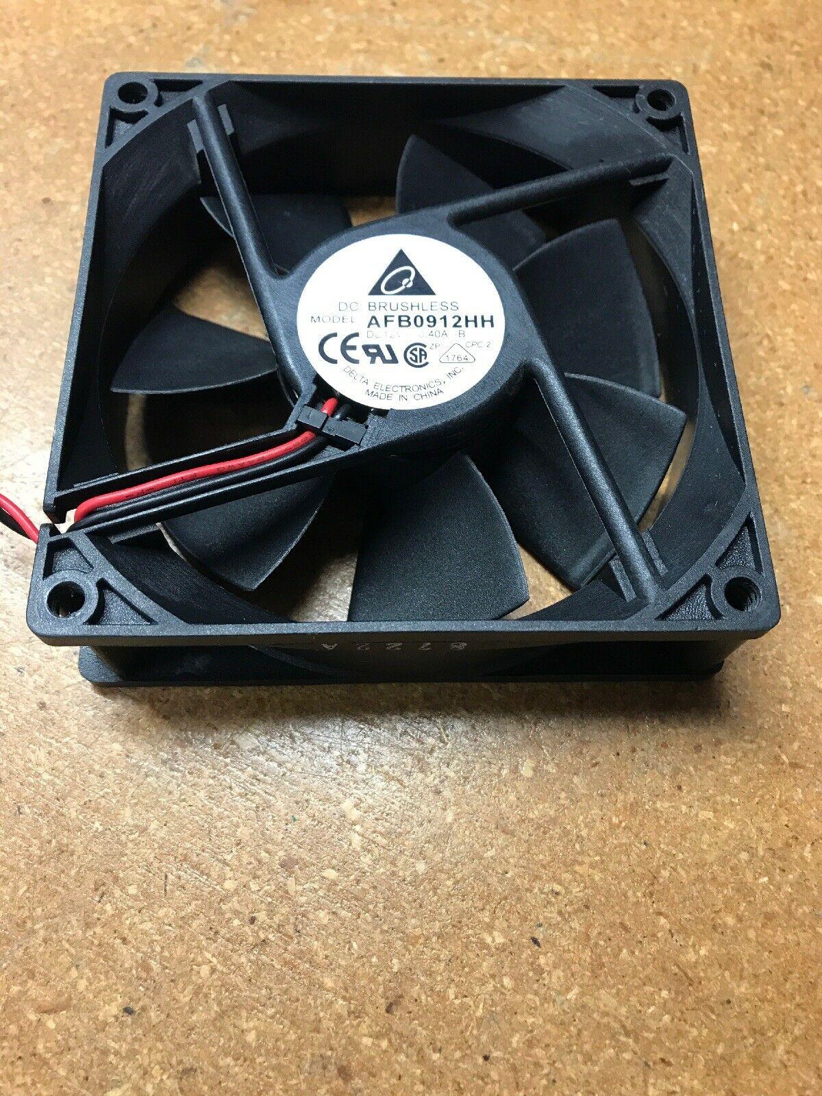 DELTA AFB0912HH 92x92x25mm 92mm 12V 0.30A 2 wire 2 PIN DC Cooling
