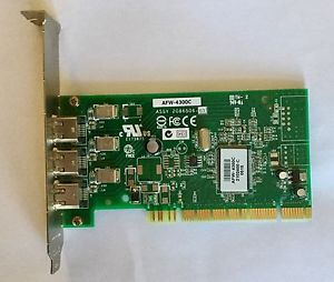 AFW-4300C Adaptec FireWire IEEE-1394 3-port PCI Card