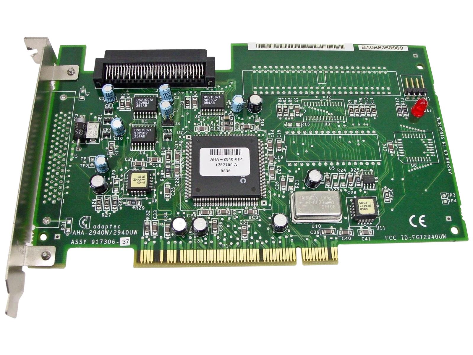 Adaptec Aha-2940I Pci Scsi Controller