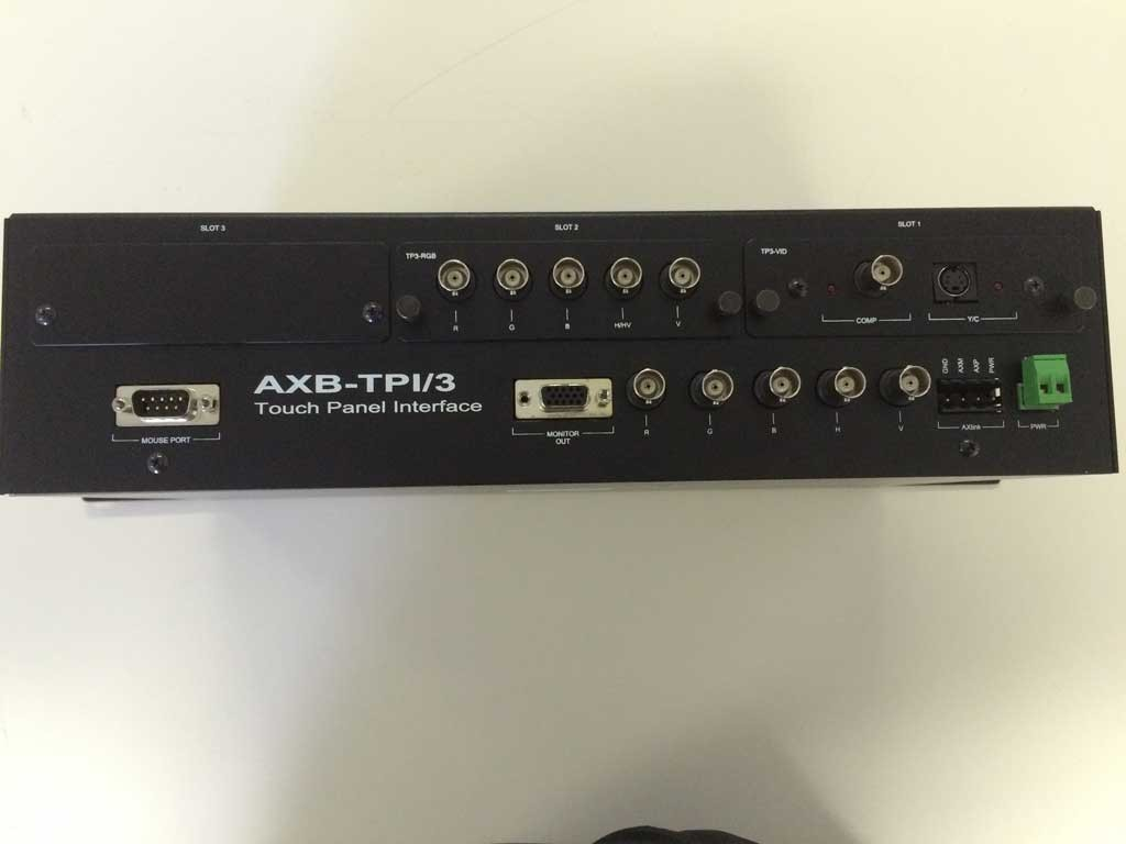 AXB-TPI/3 TOUCH PANEL INTERFACE