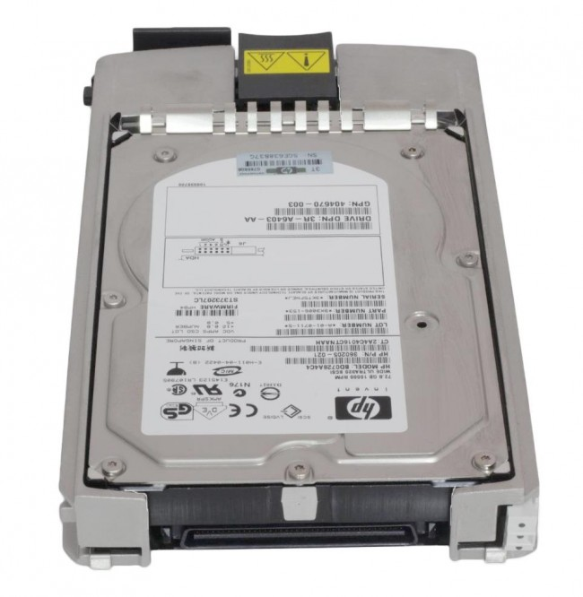 72.8GB 10K U320 HARD DRIVE WITH CADDY