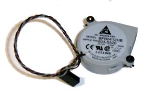 603-5520 - Imac G5 Upper Small Fan Bfb0412Hb, Dc12V 0.30A