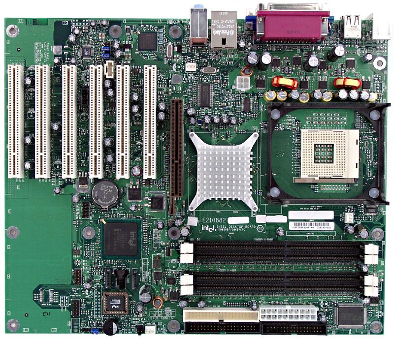 Intel C25843-407 D865GBF/D865PERC - Motherboard - Atx I865G - S47