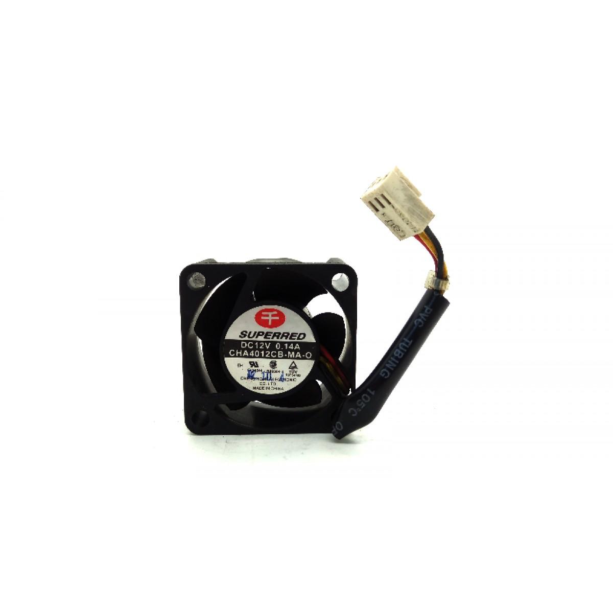 Superred Cha4012Cb-Ma-O Fan Assy Dc12V .14A 3-Wire