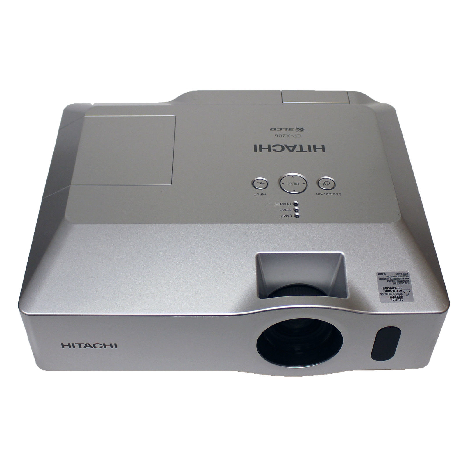 Hitachi CP-X206 LCD Home Theater Projector 662LH