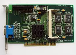 Permedia 2 Graphic 3D PCI Video Card CT6610