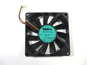 NIDEC D06R-24TH 04 inverter cooling fan 24V 0.09A 6cm 60*60*15mm 2pin