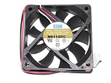 Avc Da07015B12U Fan Assy. 12Vdc .70A 3-Wire