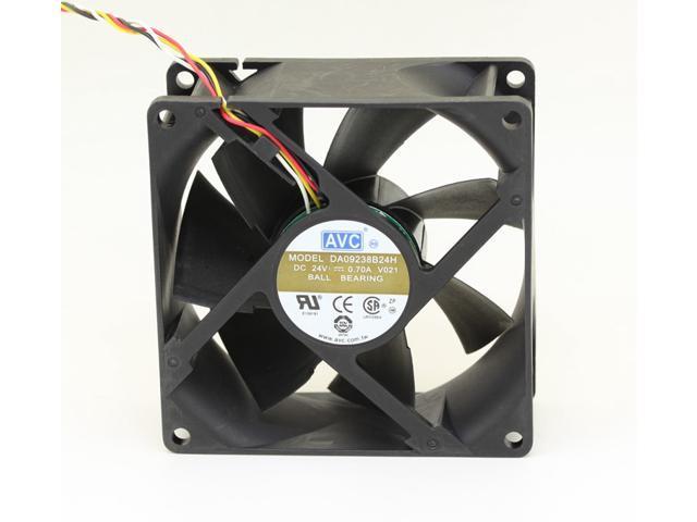 Dell AVC Ball Bearing 24V 0.70A Case Fan DA09238B24H-018