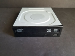 DH-16ABSH DVD-RW DL Black SATA Internal Optical Drive DVD Writer