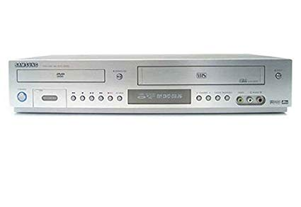 Samsung DVD-V8600 Silver DVD VCR VHS Player Combo Tested No Remote