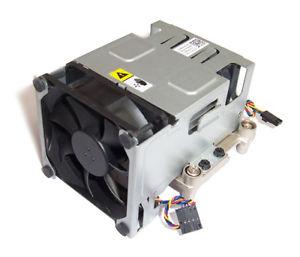 Dell Optiplex 960 Sff Fan Shroud Assembly & Heatsink Dw017 Kr025 G216f