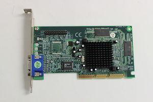 Evga Nvidia Riva Tnt2 Tnt 2 (e-tnt2) M64 Agp Video Graphics Card 32mb