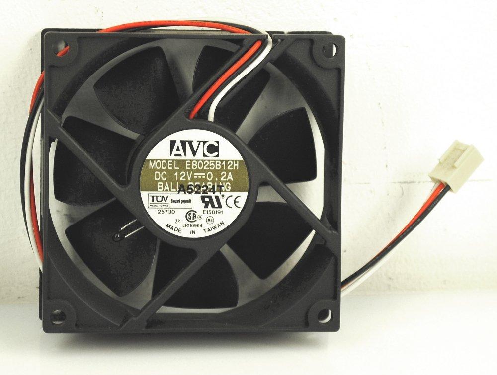 Avc E8025B12H Fan 12V Dc .25A
