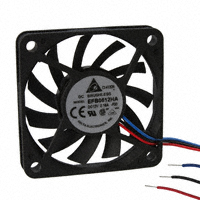 Delta Electronics EFB0612HA F00 DC12V 0.18A 6010 60x60x10mm 3Pin Cooling Fan