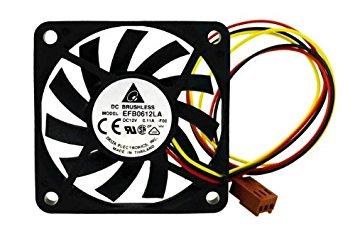 Delta Efb0612La Fan Dc12V .11A 3-Wire