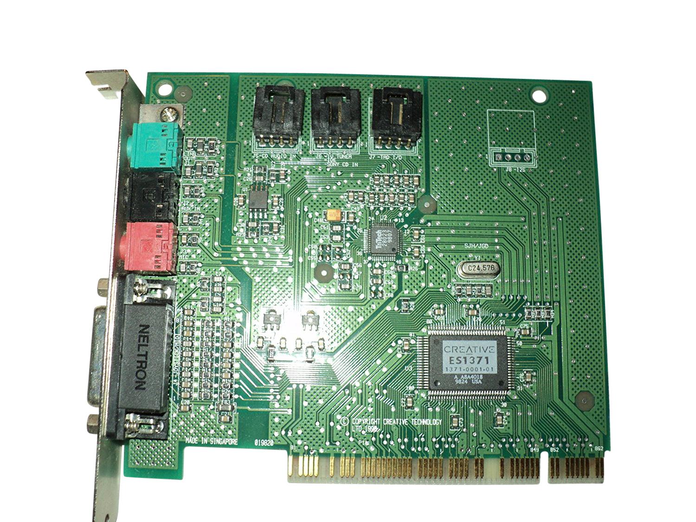 Es1371 Sound Card 16 Bit Pci Blaster Ensoniq Audio