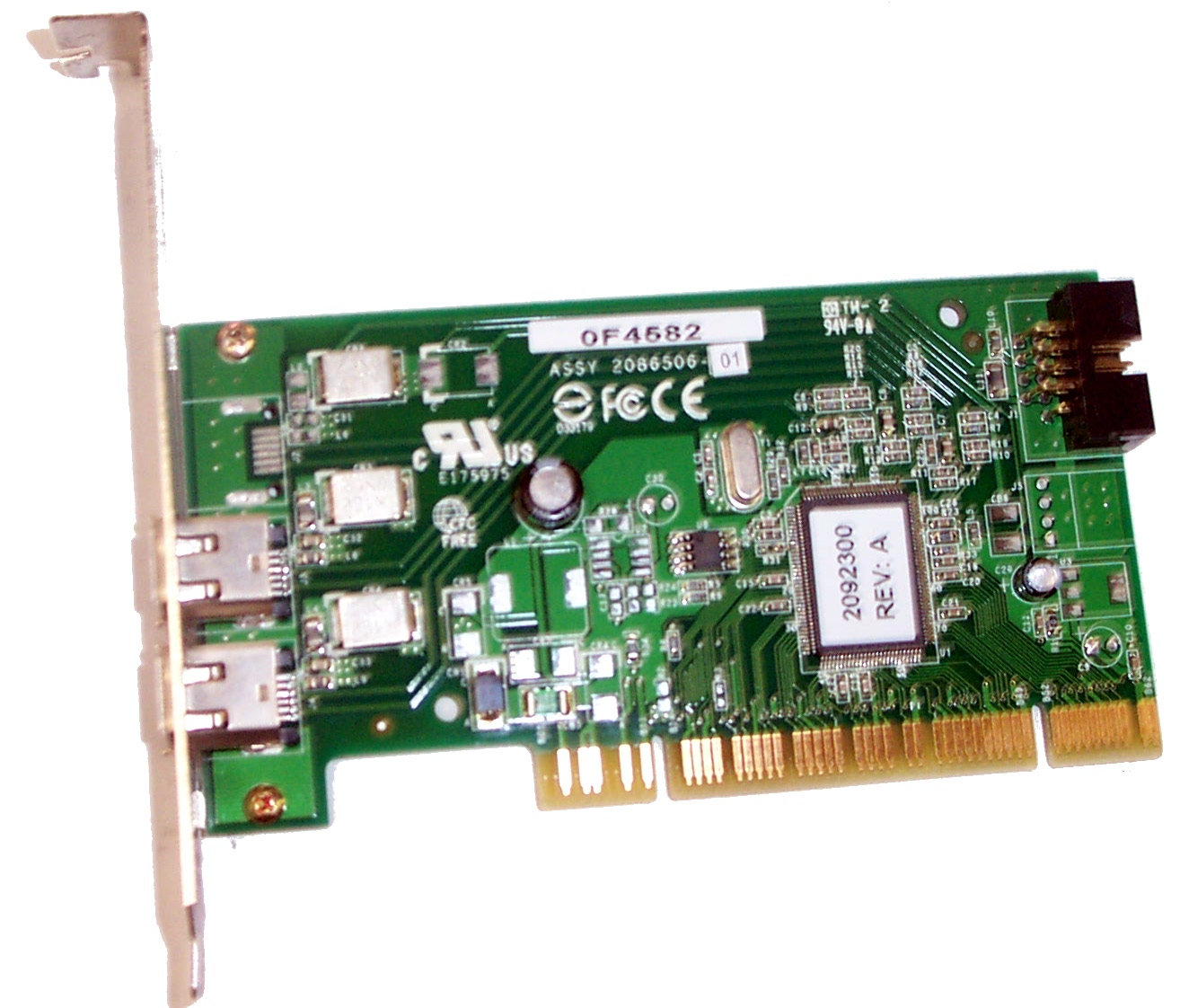 Dell F4582 IEEE 1394 Controller, 1394A, PC Interface