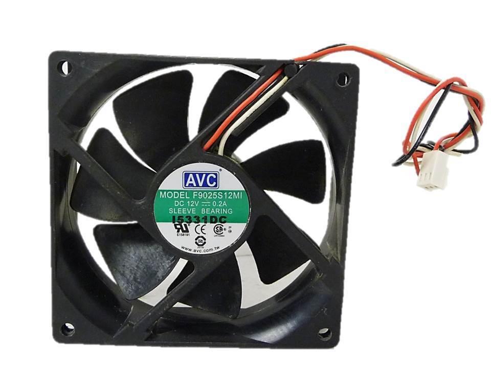 Avc F9025S12Mi Fan Assy Dc12V .2A 3-Wire
