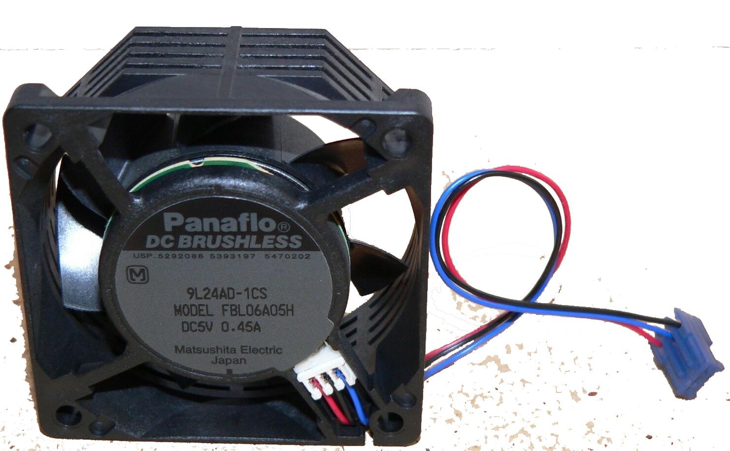 Panaflo Fbl06A05H Fan Panaflo Dc Brushless Fbl06A05H Dc5V 0.45A