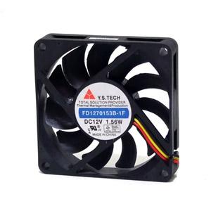 Y.S. Tech Fd1270153B-1F 12V 1.56W Dc Brushless Fan