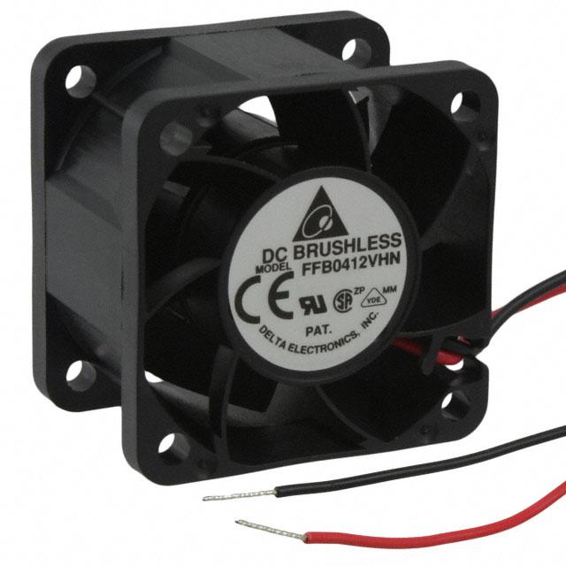 Delta Ffb0412Vhn Fan Assy Dc12V .24A 3-Wire Assy