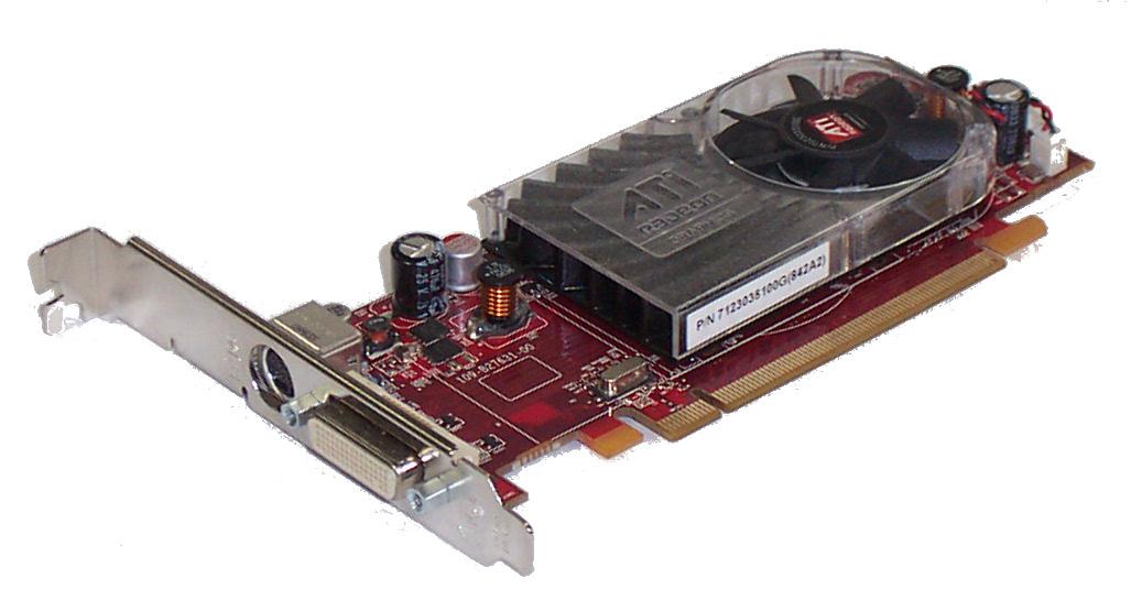 Dell Fm351 Ati Radeon Hd2400 Xt, 256Mb Dms-59, Tv Out, Full Height, O