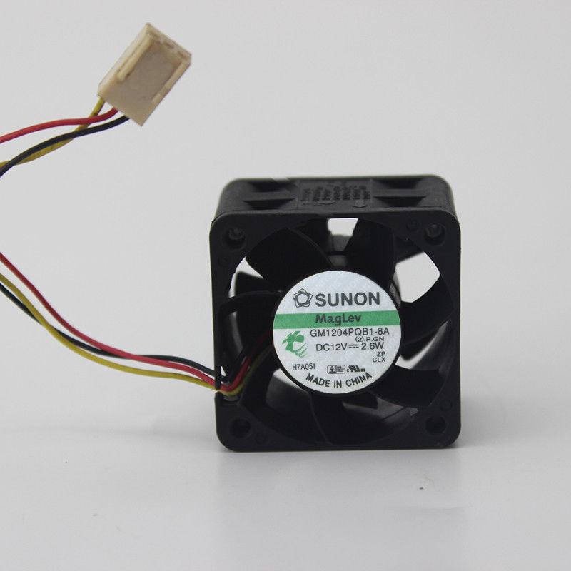 3 Wire Sunon GM1204PQB1-8A Server - Square Fan Server