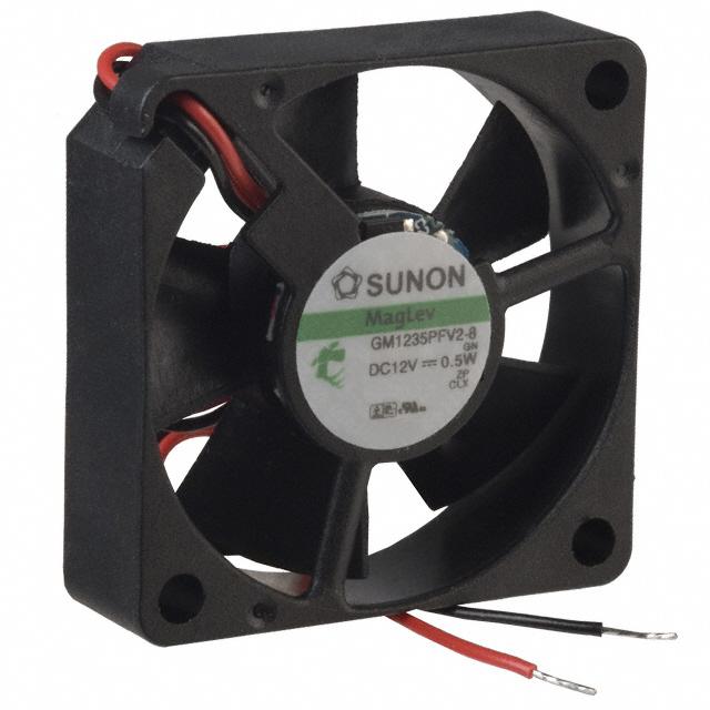 Sunon Gm1235Pfv2-8 Fan Dc12V .5W 2-Wire 35X10Mm