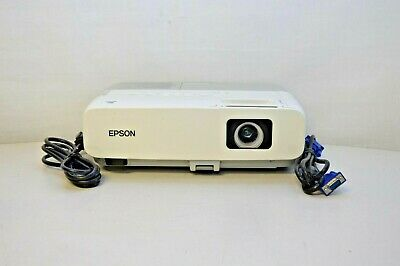EPSON POWER LITE 84 MODEL H294A 3LCD MULTIMEDIA PROJECTOR NO REMOTE