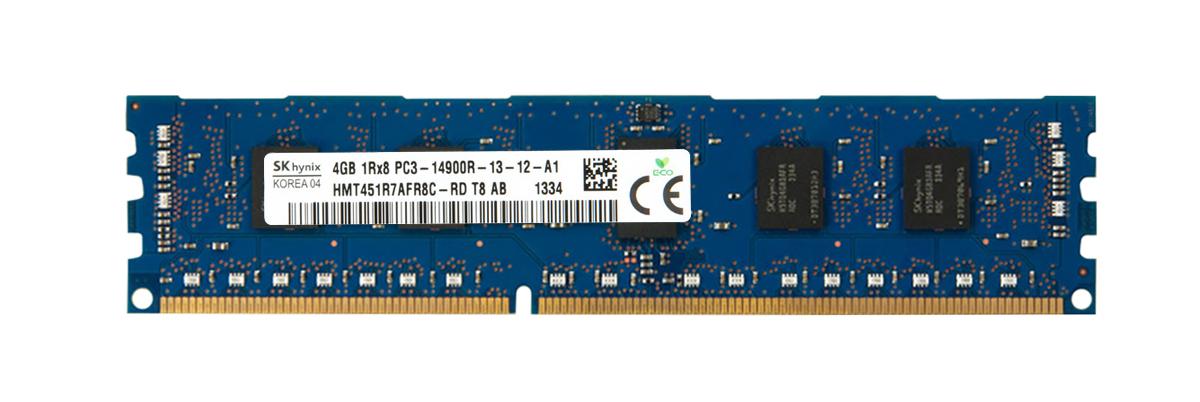 4GB 240p PC3-14900 CL13 9c 512x8 DDR3-1866 1Rx8 1.5V ECC RDIMM