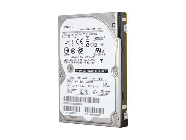 146 GB 2.5 - SAS - 15Krpm - 64 MB Internal Hard Drive