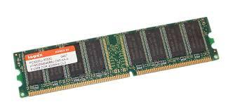 Hynix PC3200U HYMD264646B8J-D43 512MB DDR 400MHz DIMM RAM Stick