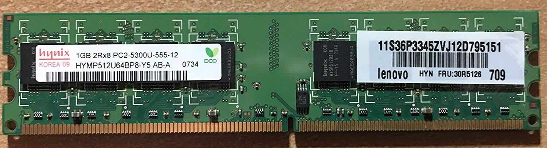 2GB 2Rx8 PC2-5300U-555-12