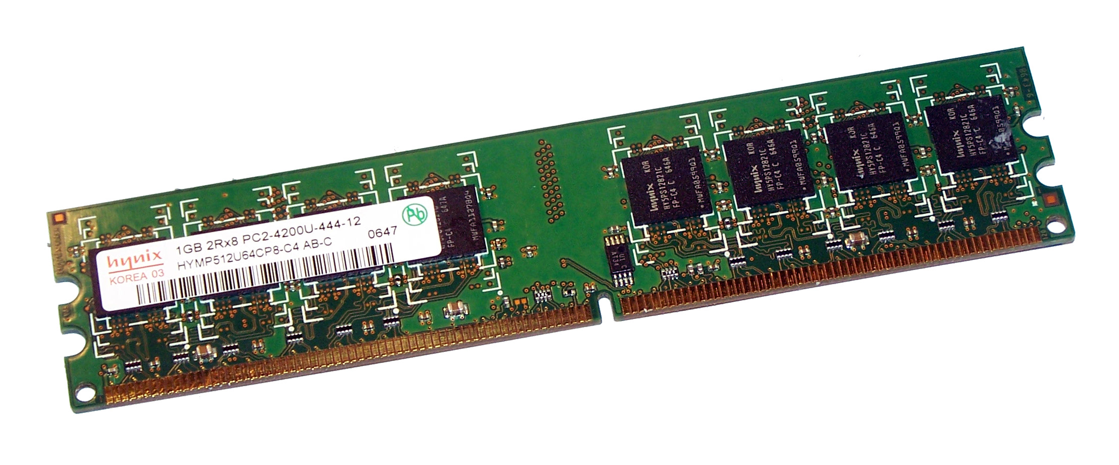 1GB DDR2 DUAL-CHANNEL 533MHZ Dimm Memory