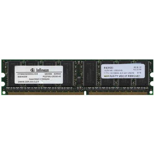 HYS64D32300GU-6-B Infineon 256MB PC2700 DDR-333MHz MEMORY MODULE