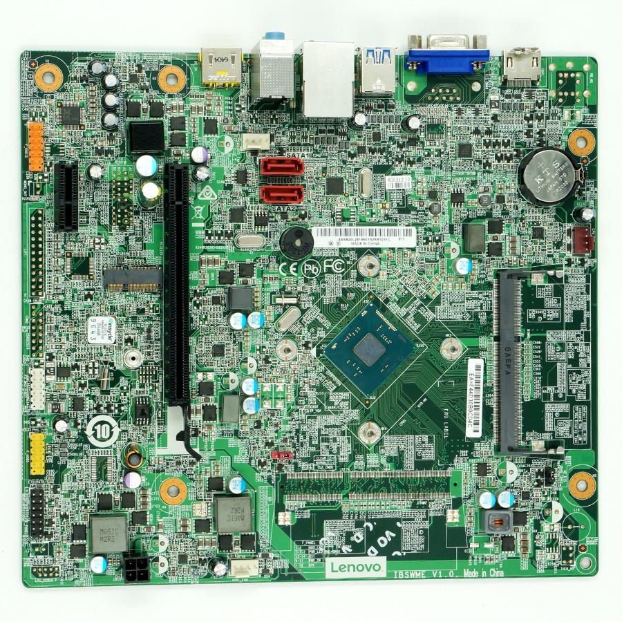 00XK198 Lenovo 300S Desktop Motherboard IBSWME V:1.0 1.6GHz N3700 CPU