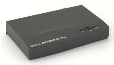 HEWLETT PACKARD HP JETDIRECT EX PLUS PARALLEL PRINT SERVER J2591A