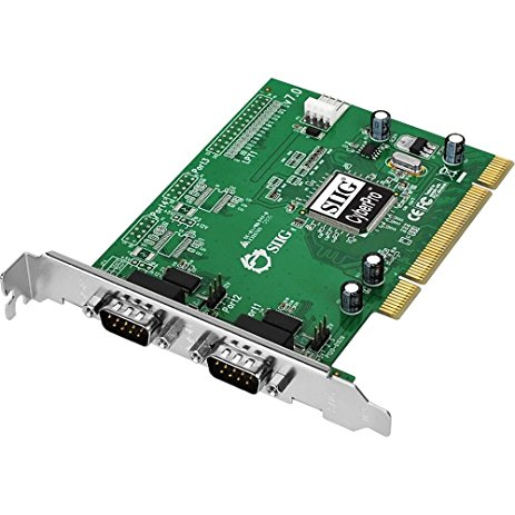 Siig Jj-P02012-B Dual Serial Pci Card