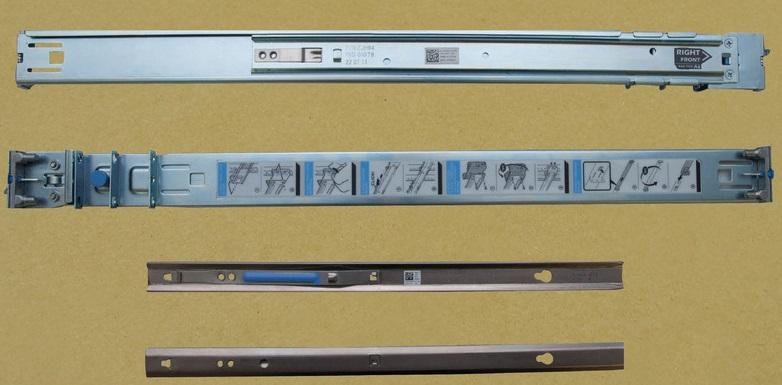 JWFR6 Dell PowerEdge R210 1U Rail Kit