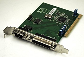 HP Lite-On KB661701 321722-001 PCI-2S1P Serial DB-9 Parallel DB-25 PCI Card used