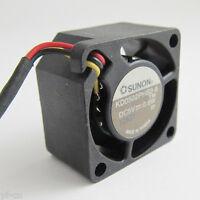 Kd1204Pks1 Sunon 40X40X20Mm Ball Bearing Fan Dc12V 0.9W